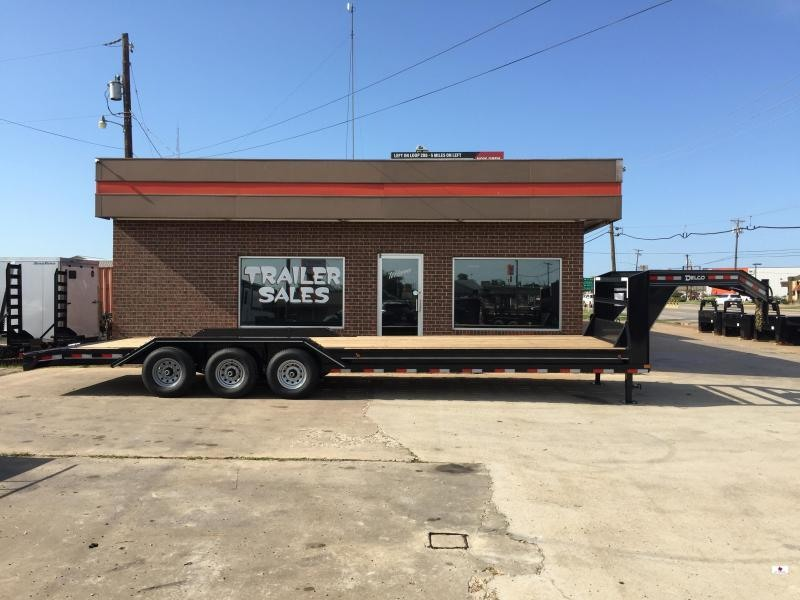 2021 Delco Trailers GC1023037K Equipment Trailer