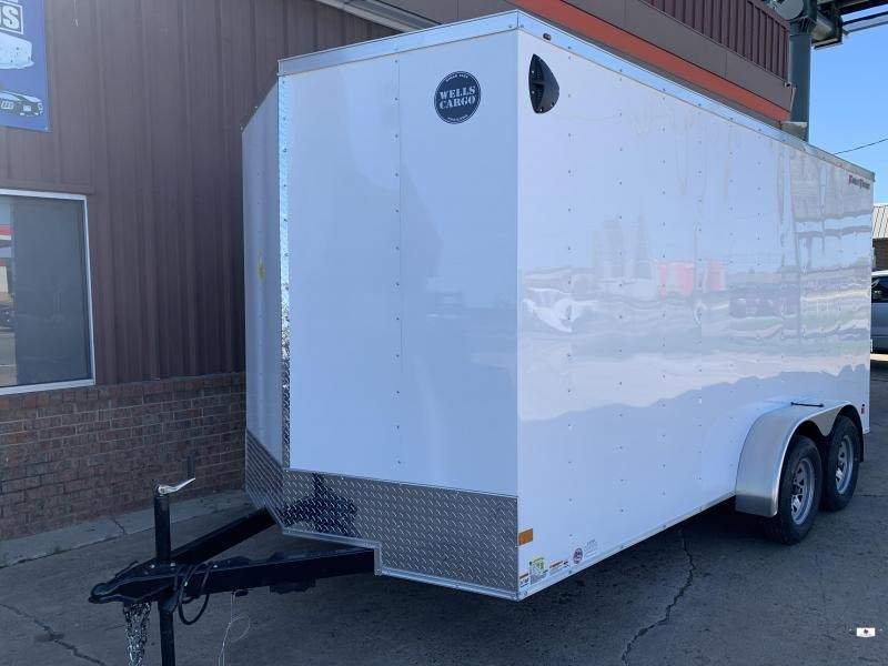 2021 Wells Cargo FT716T2 Enclosed Cargo Trailer