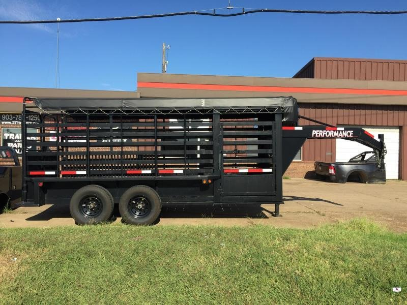 2012 Performance Trailers BT6X16 Livestock Trailer