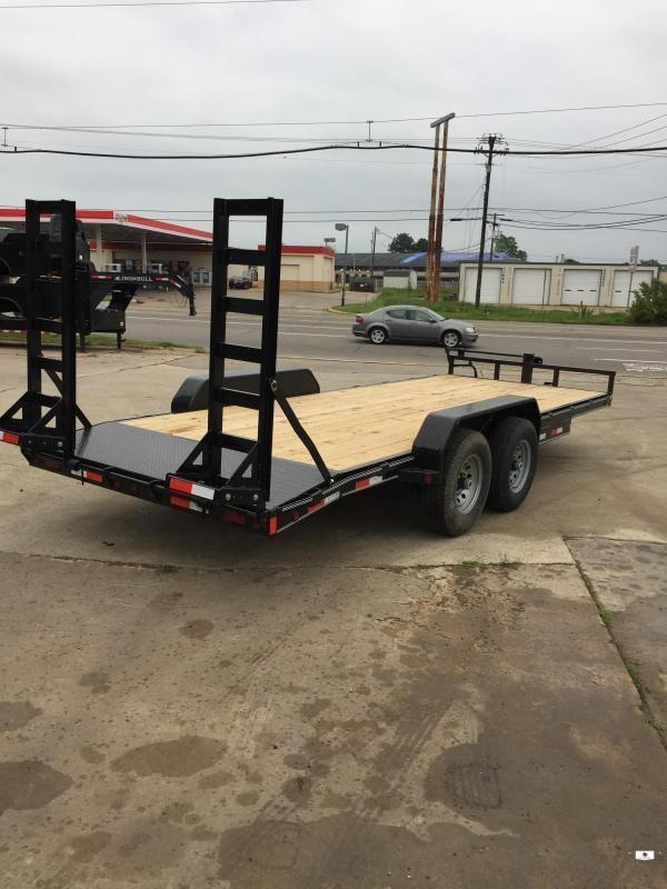 2021 Delco Trailers BC83X2227 Equipment Trailer