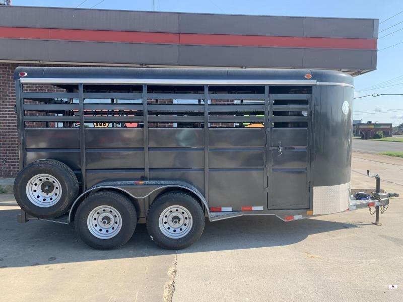 2021 Delco Trailers S616A62RG Livestock Trailer