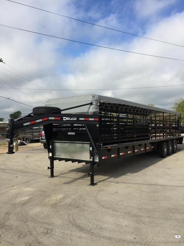 2021 Delco Trailers GB683237K Livestock Trailer