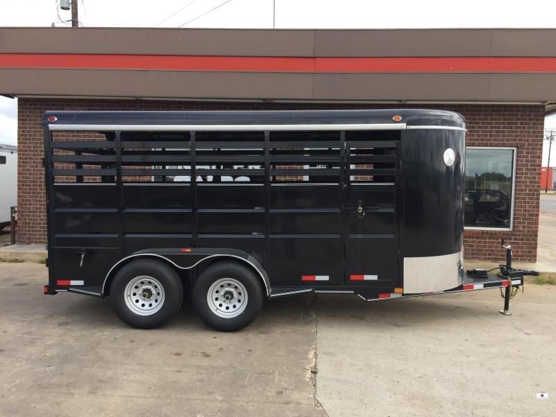 2021 Delco Trailers BS6X16 Livestock Trailer