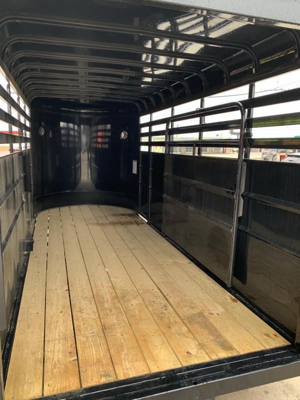 2021 Delco Trailers BS6X1626K Livestock Trailer