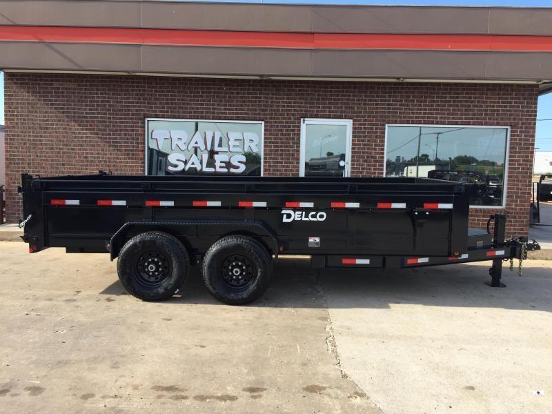 2021 Delco Trailers DB0831627 Dump Trailer