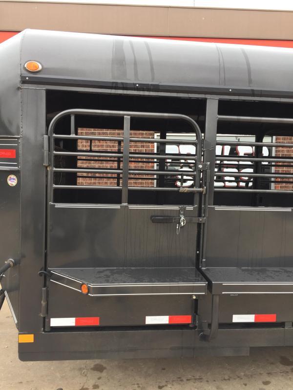 2020 Delco Trailers GP682428K Livestock Trailer