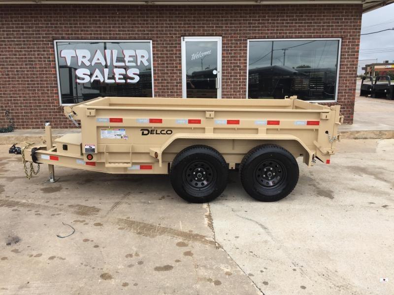 2021 Delco Trailers BD601023 Dump Trailer