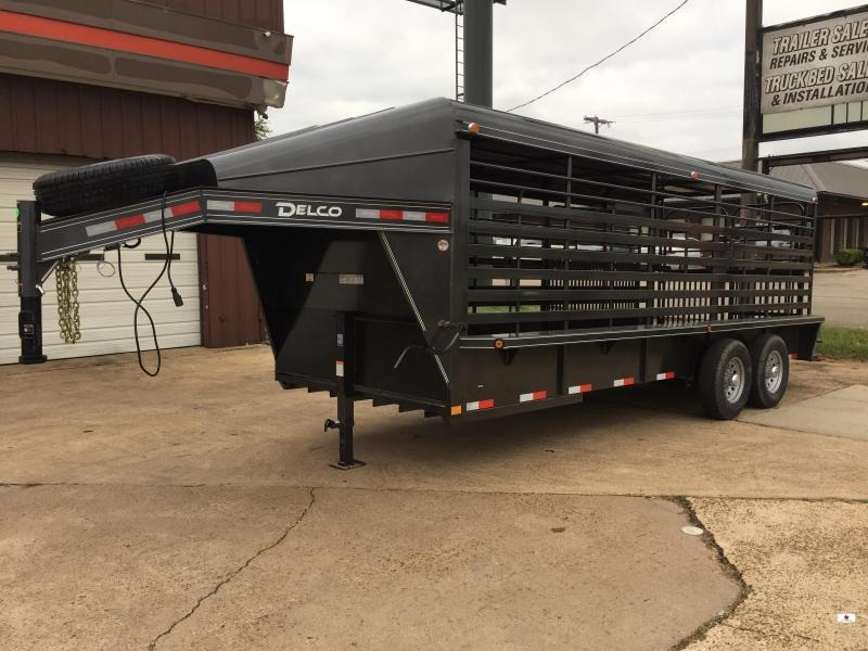 2021 Delco Trailers GM682027K Livestock Trailer