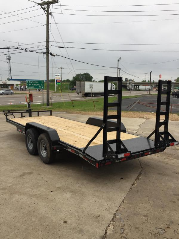 2021 Delco Trailers BC83X2027 Equipment Trailer