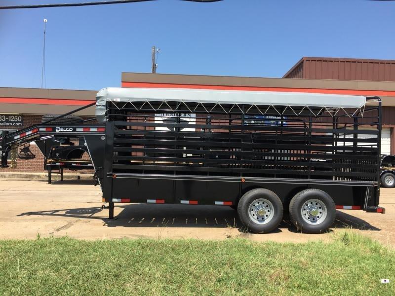2020 Delco Trailers GB6X1627K Livestock Trailer