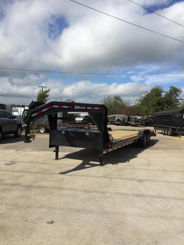 2021 Delco Trailers GC1022427 Equipment Trailer
