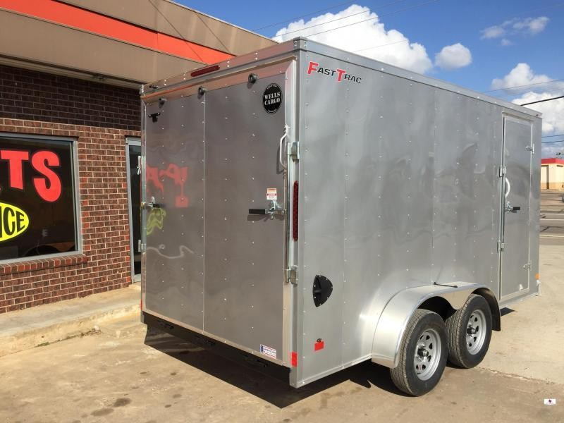 2021 Wells Cargo FT714 Enclosed Cargo Trailer