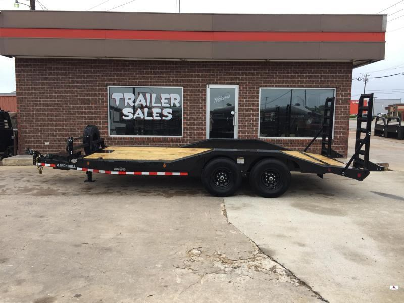 2021 Iron Bull ETB0218072 Equipment Trailer