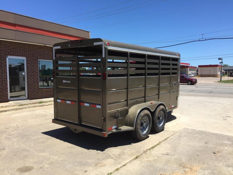 2020 Delco Trailers BS616252 Livestock Trailer