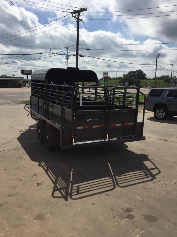 2020 Delco Trailers GP6816270 Livestock Trailer