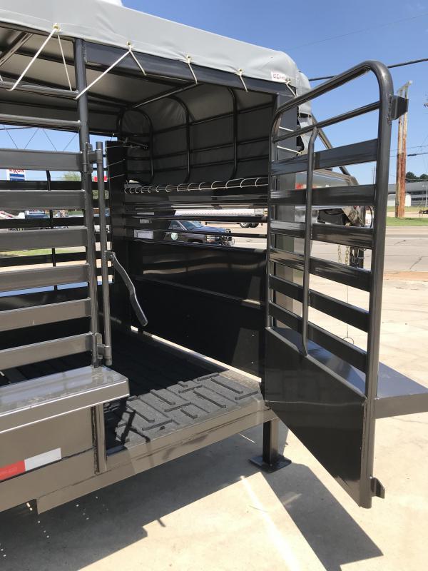 2020 Delco Trailers GB68X3237K Livestock Trailer