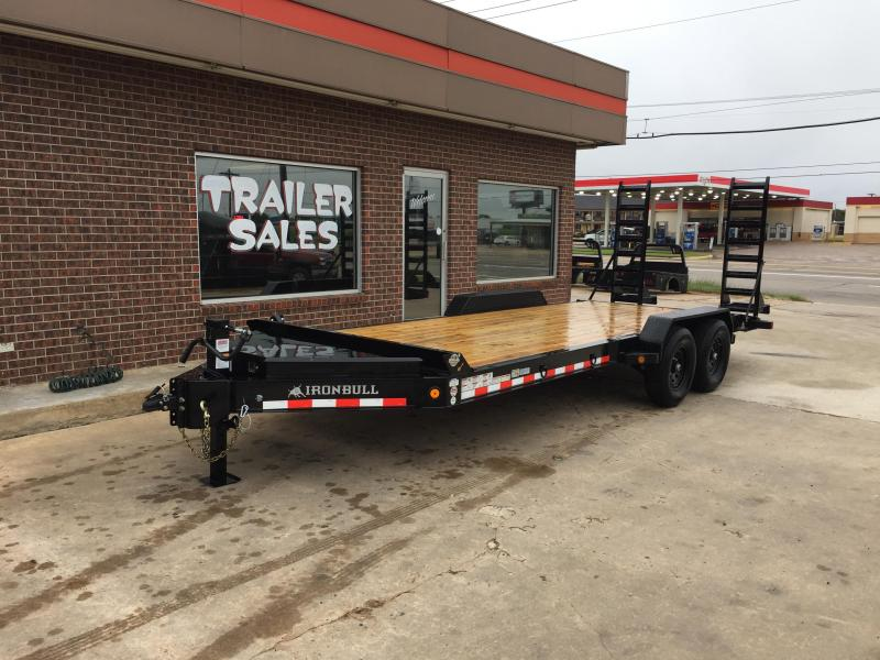 2021 Iron Bull EWB8320072 Equipment Trailer