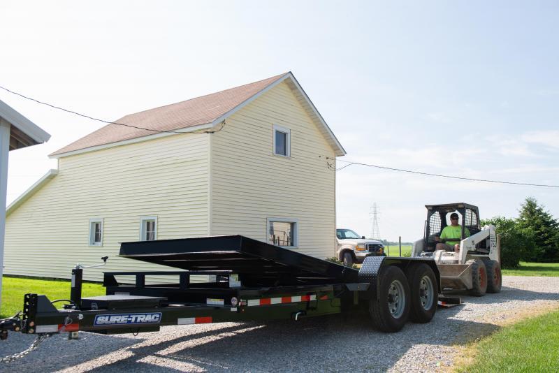 Sure-Trac 7X16 TILT BED TA 14K Equipment Trailer
