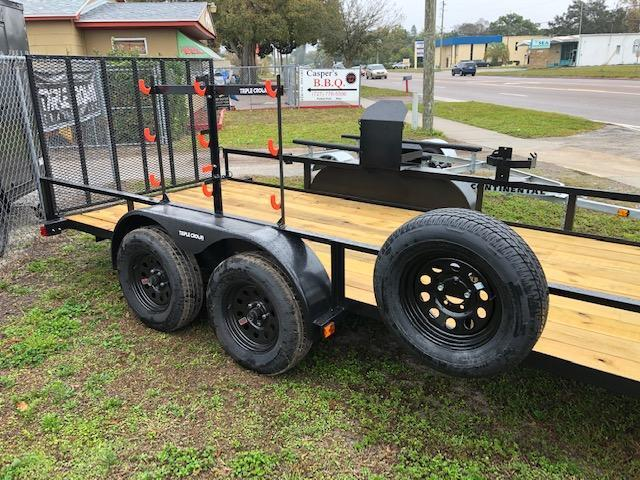 2020 Triple Crown Trailers 6x16TA LANDSCAPERS SPECIAL Utility Trailer