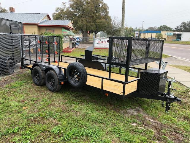 Triple Crown Trailers 6x16TA LANDSCAPERS SPECIAL Utility Trailer
