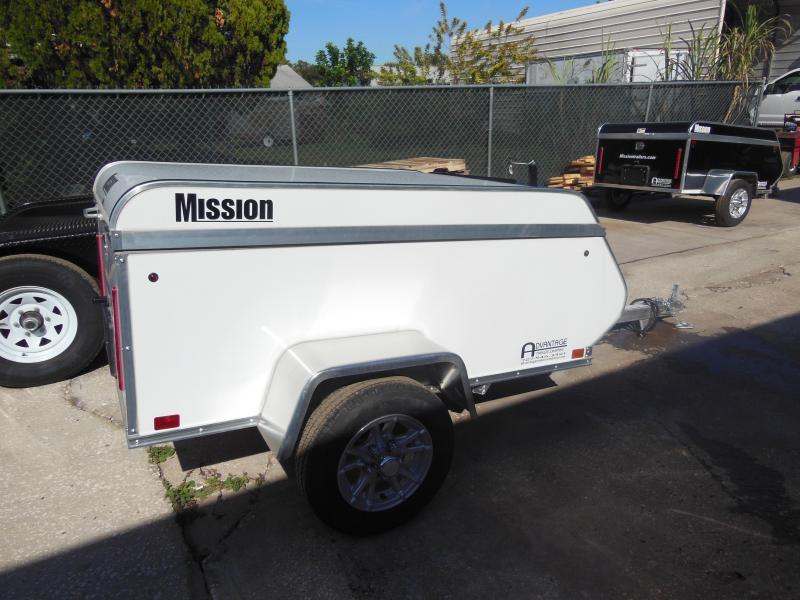Mission 4x6 Multi-Purpose Enclosed Cargo Trailer