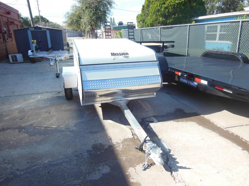 Mission 4x6 Multi-Purpose Enclosed Cargo Trailer