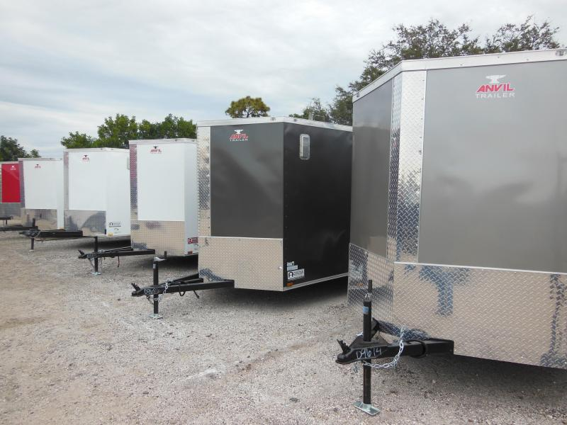 Anvil 7 wide Enclosed Cargo Trailer starting @ $3195