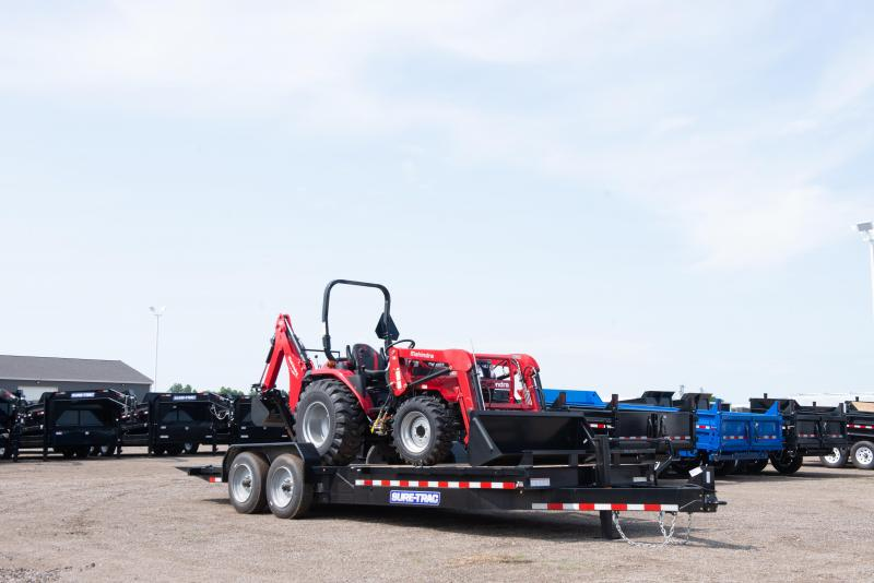 Sure-Trac 7X16+4 TILT BED TA 14K Equipment Trailer