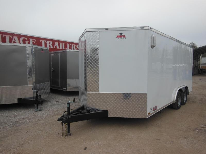 Anvil 8 x 16 LS Enclosed Cargo Trailer