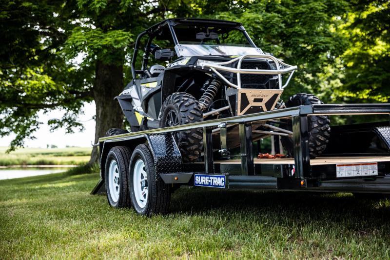 Sure-Trac 7 x 16 TA 7K Utility Trailer