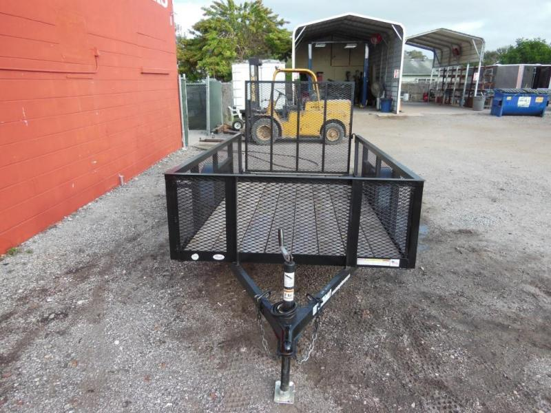 Triple Crown Trailers 5 x 10 w/ 2' mesh Utility Trailer