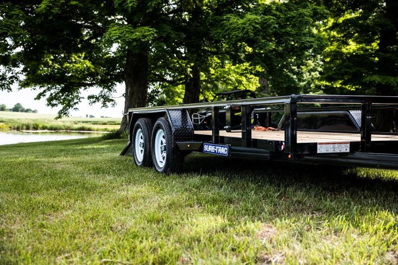 Sure-Trac 7 x 18 TA 7K Utility Trailer