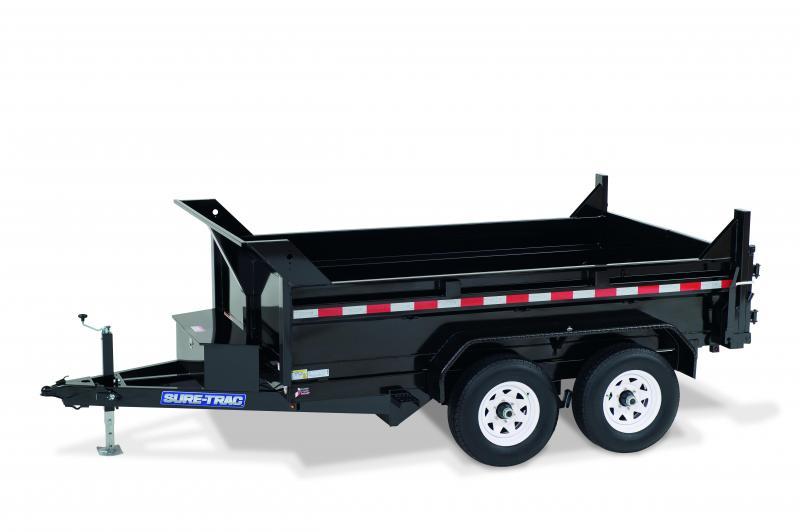 Sure-Trac 6x10 LP 7K Standard Duty Dump Trailer