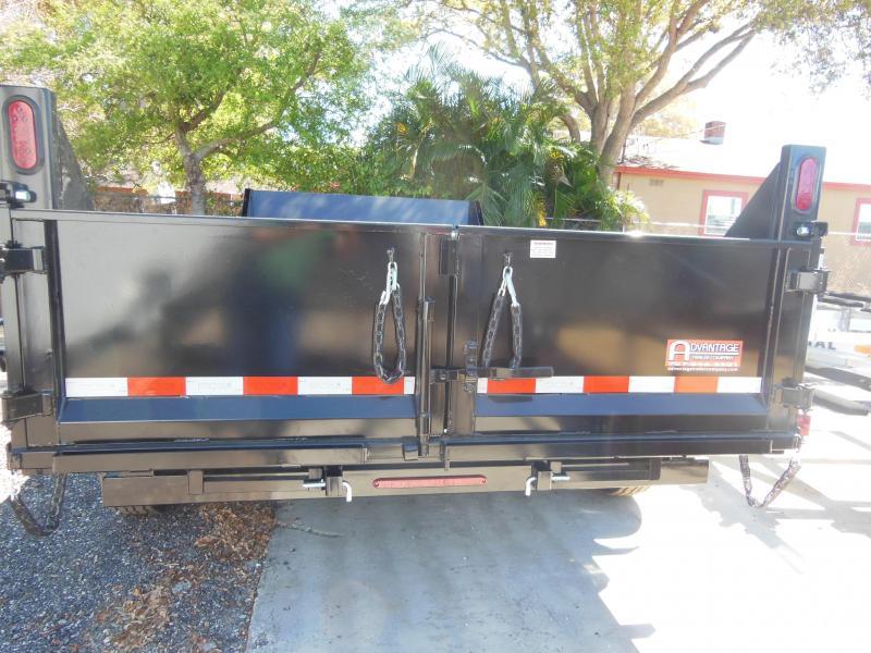 New Sure-Trac 7x14 TA DUAL RAM 14K Dump Trailer