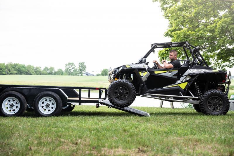 Sure-Trac 7 x 16 TA 10K Utility Trailer