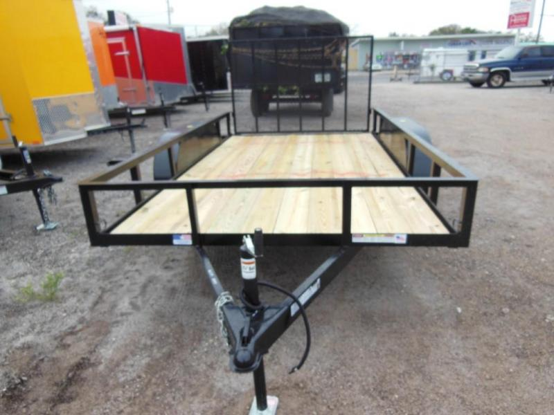 2020 Triple Crown Trailers 6 x 16 TA Utility Trailer