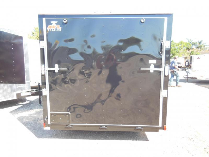 Anvil 7 x 12 SA Bikers Edition Enclosed Cargo Trailer