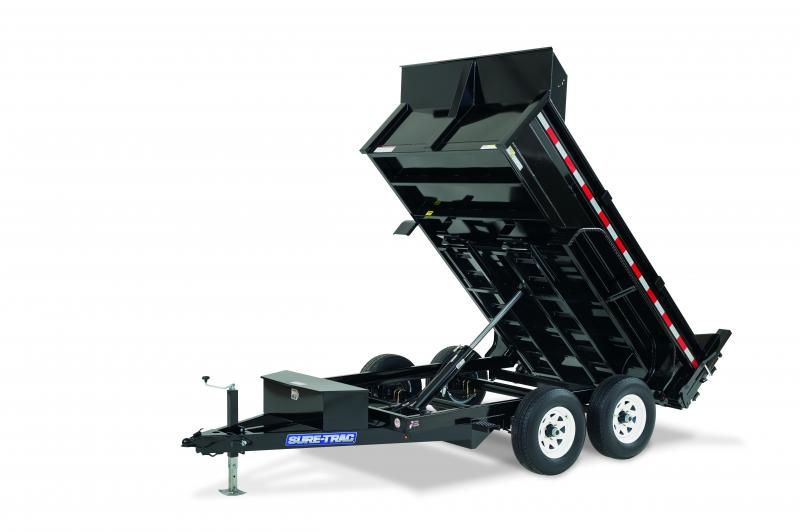 Sure-Trac 6x10 LP Standard duty 10K Dump Trailer