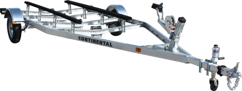 Continental Trailers EW1515V GALVANIZED KEEL ROLLER Boat Trailer