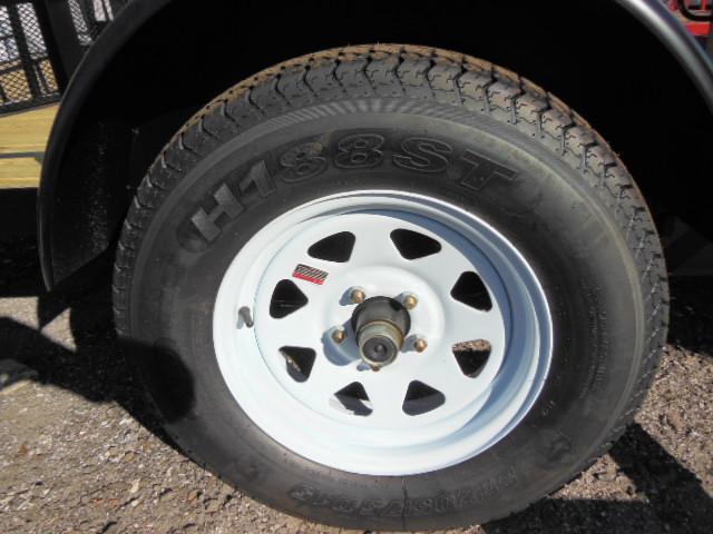 Triple Crown 7 X 12 single axle ATV Trailer