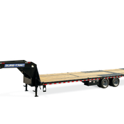 Sure-Trac 8.5X20+10 HD-LP-DO W/ HYDRAULIC BEAVERTAIL 25.9K Equipment Trailer