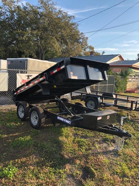 Sure-Trac 5x10 LP Homeowners Dump Trailer