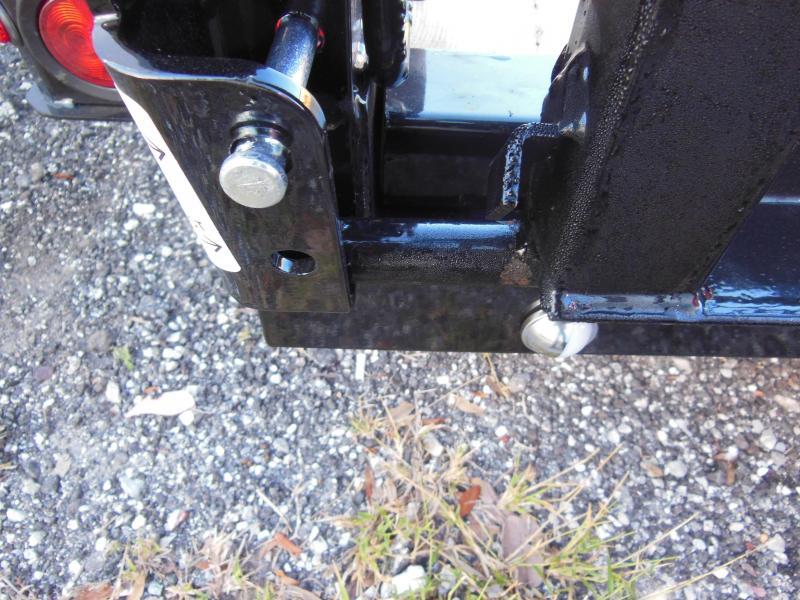 Sure-Trac 6 x 10 SA Steel High Side Utility Trailer