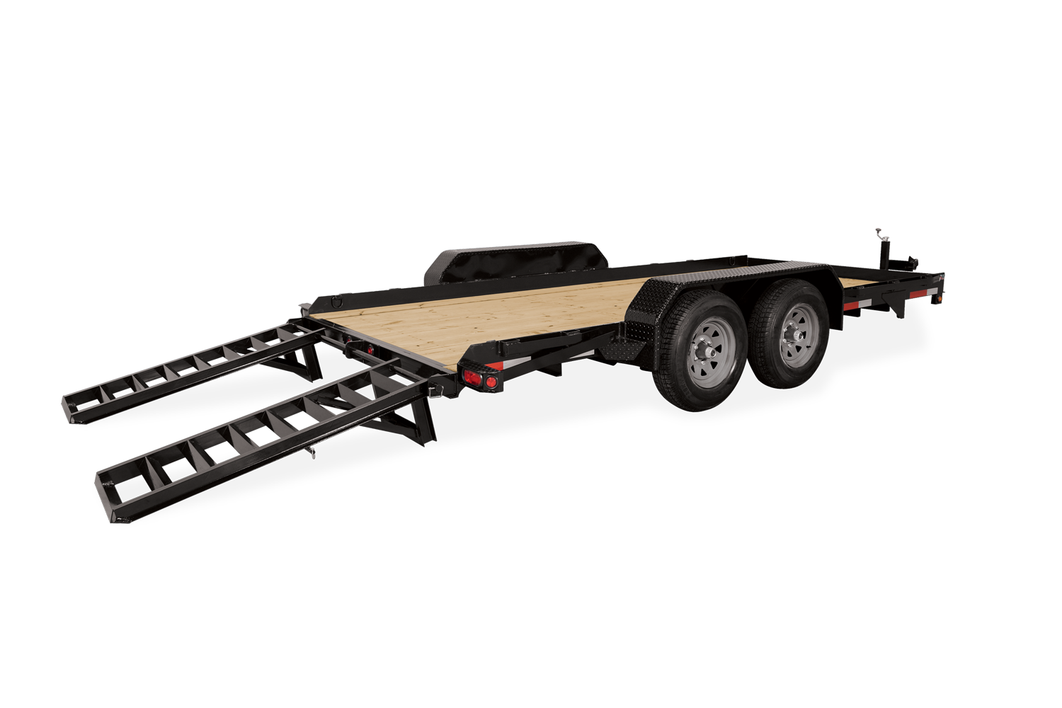 2020 Sure-Trac 7 X 16 SKID STEER 14K Equipment Trailer