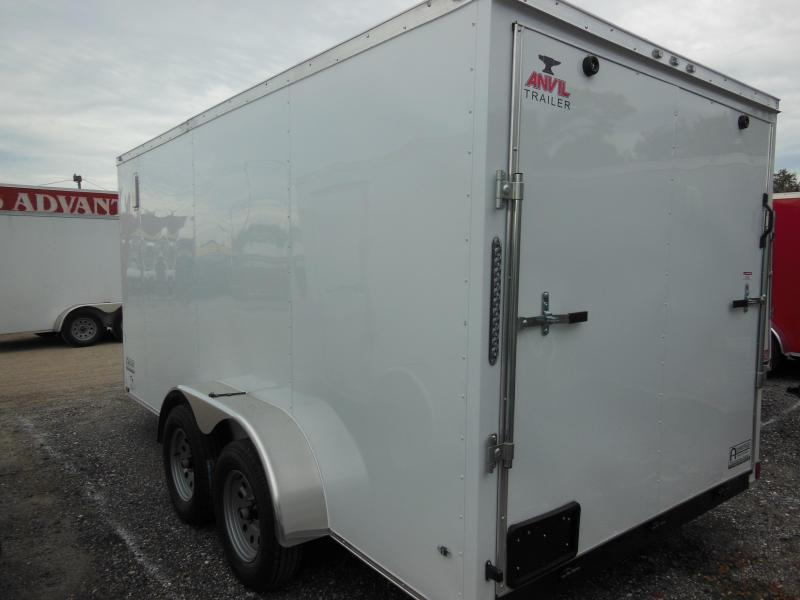 Anvil 7 X 12 TA Enclosed Cargo Trailer