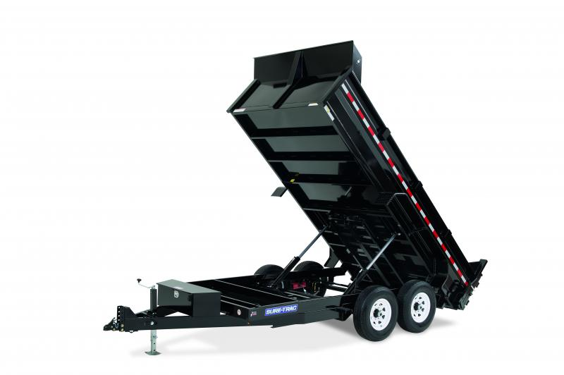 Sure-Trac 7x12 TA 12K Dump Trailer