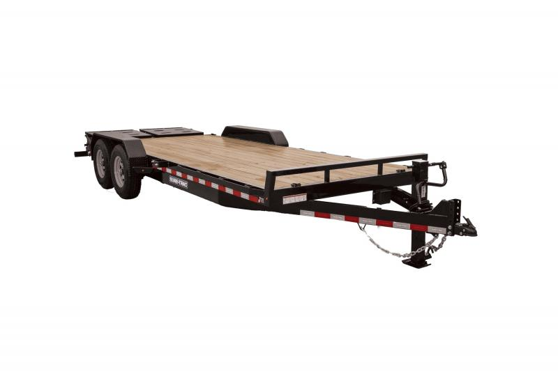 Sure-Trac 7X17+3 UNIVERSAL RAMP IMPLEMENT 14K Equipment Trailer