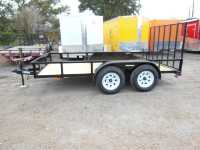 New Triple Crown Open Utility Trailers