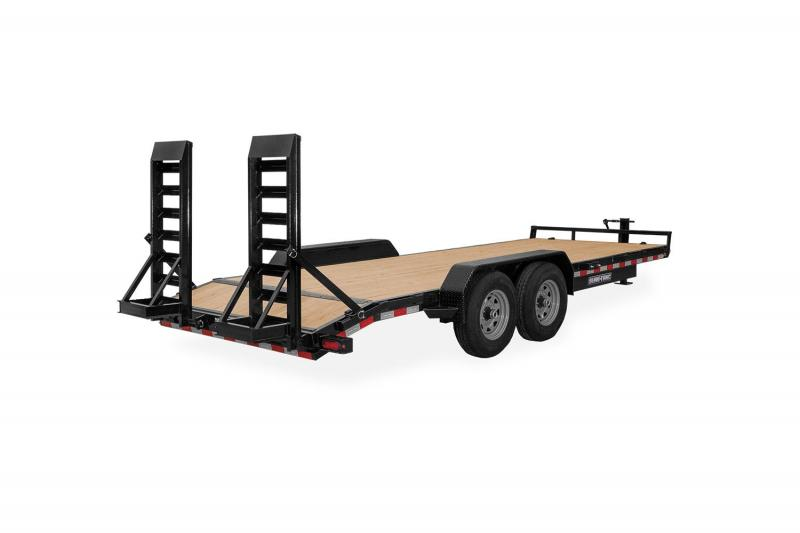 Sure-Trac 7 X 18 IMPLEMENT 10K Equipment Trailer