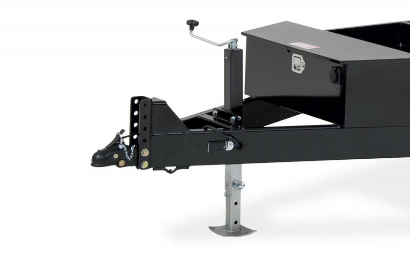 Sure-Trac 7X12 TA 12K TELESCOPIC Dump Trailer